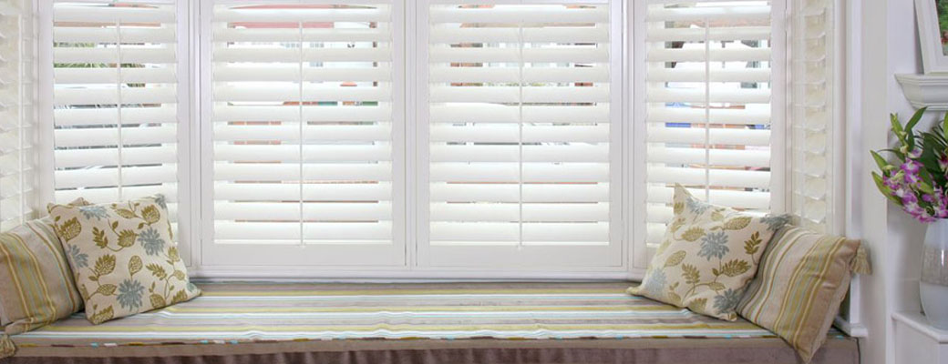resprayed plantation shutters